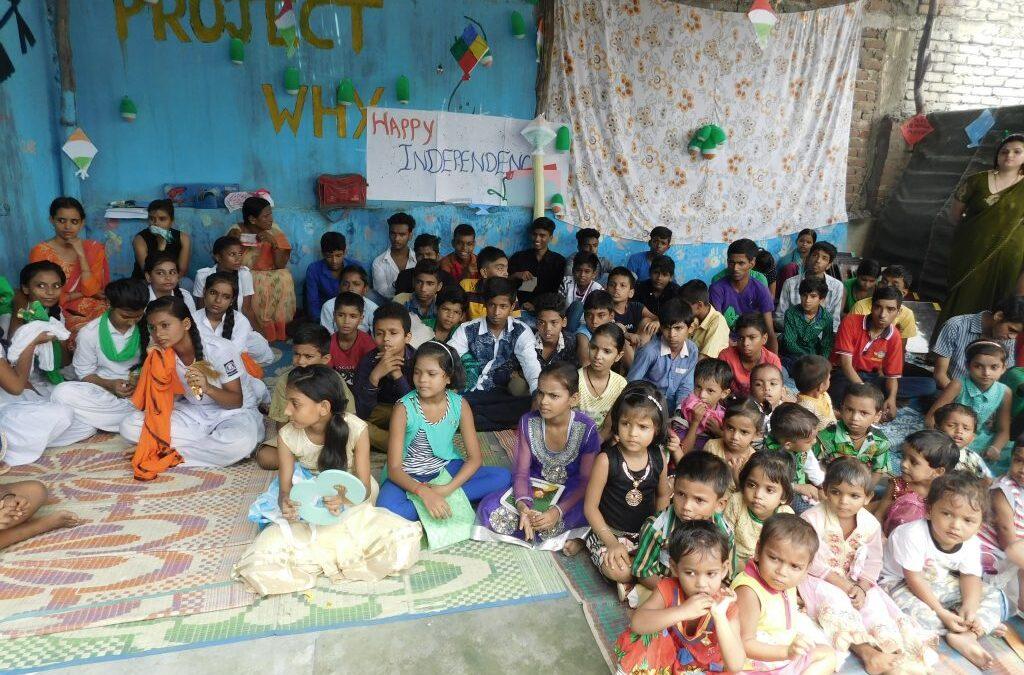 Celebrating Independence Day #GivingTuesday #India