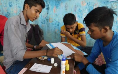 Learning to…#GivingTuesday#India