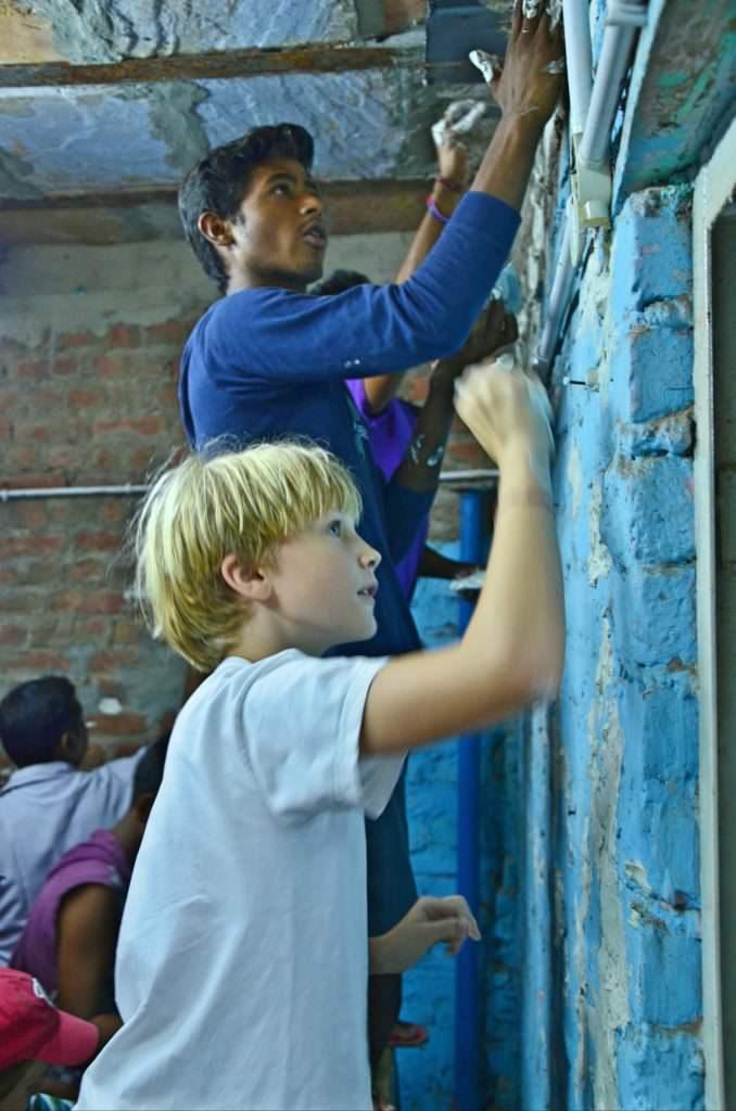 Malte, The joy of Giving #GivingTuesday#India
