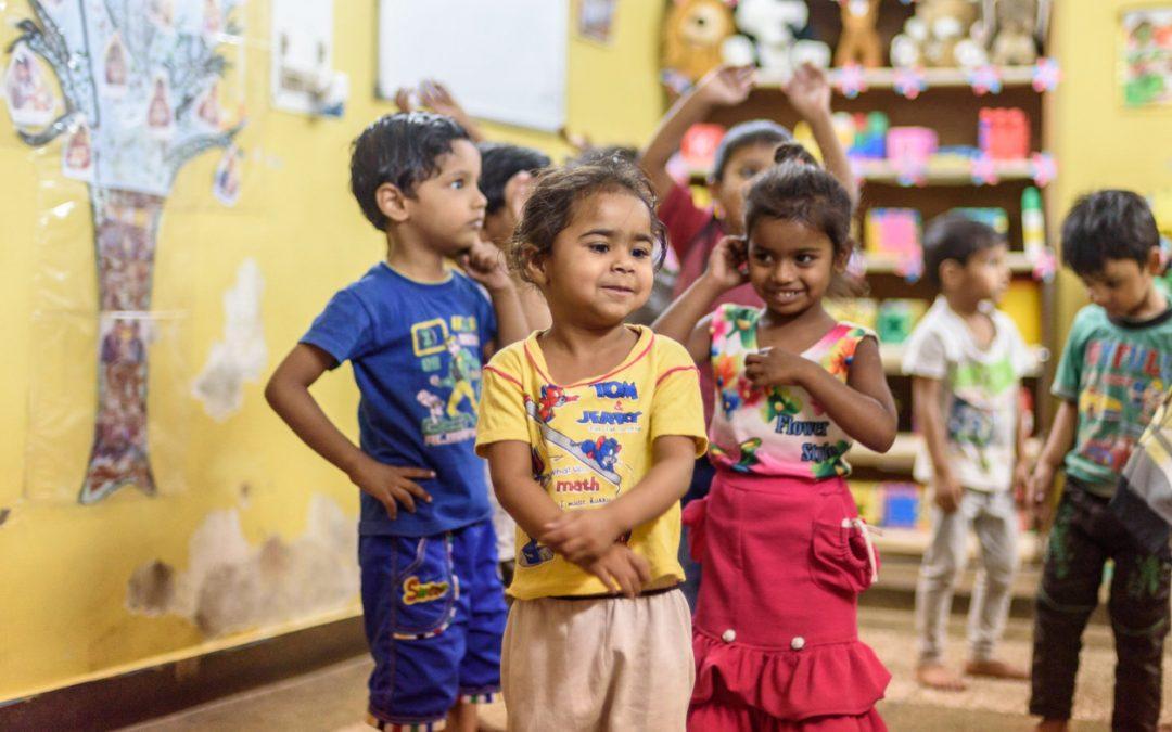 The school bizMess #GivingTuesday #India