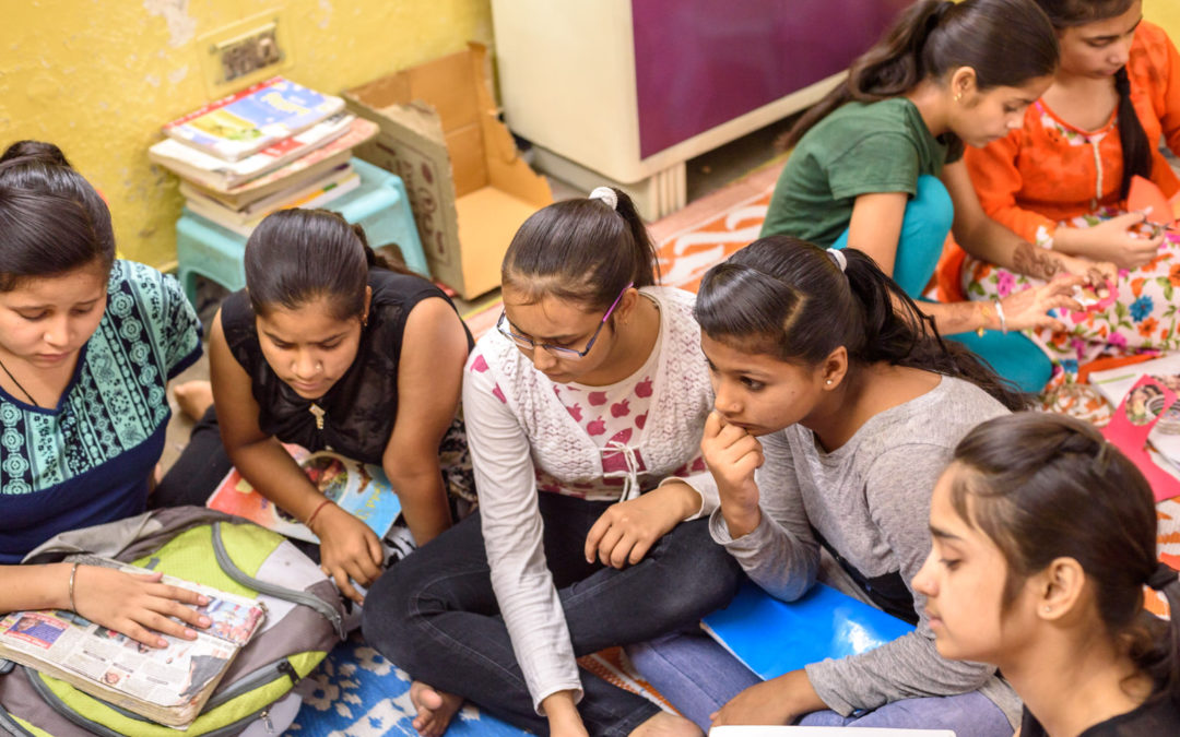Anou's blog Exams at Project Why #GivingTuesday#India