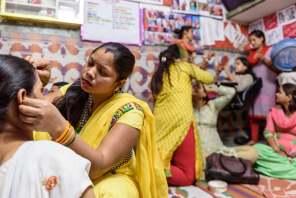 Beauty parlour project WHY Delhi