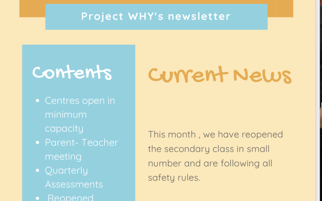 What's new The Project Why Family Gazette